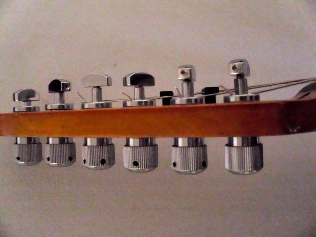 Riot Works Precision Tuning machine Gearless 40:1 Gibson SG Firebird Les Paul
