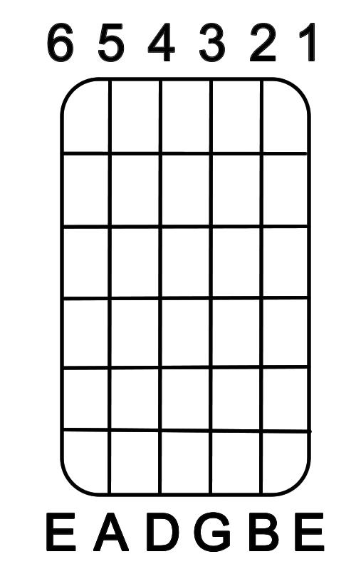 Go Back > Gallery For > Blank Guitar Fretboard Single