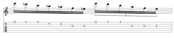 F Pent Minor - F Pent Minor 2 string