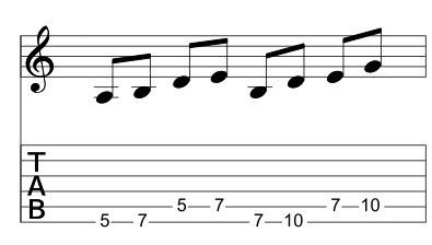 Pentatonic Sequence 1