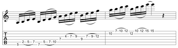 Pentatonic Sequence 4