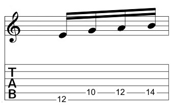 E Minor Pent 4-note