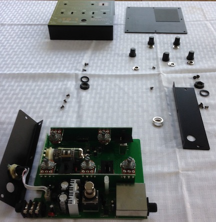 Nady Pedal Disassemble