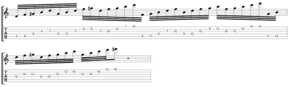 32nd Note Lick Revised