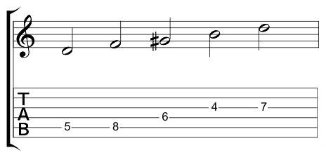 5 Note half Note