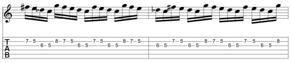 Repeating Lick